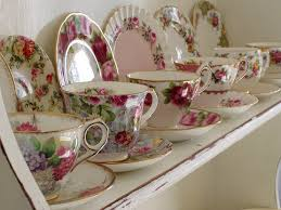 Decorating With Teacups And Saucers teacup shelf We do love our tea cup shelves teacup shelves 7