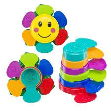 "Набор <b>игрушек</b> для ванной ""FLOWER PUZZLE"" <b>Happy Baby</b> 330641"