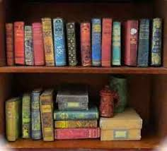 image is loading 21 dusty old books miniature dollhouse 1 12