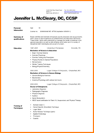 Resume For Medical Students - Resume Sample