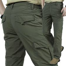 New Men Tactical Pants Spring <b>Summer Men's Sports Casual</b> Cargo ...