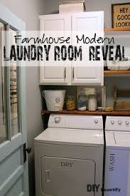 laundry room makeovers charming small. Farmhouse Modern Laundry Room Reveal Makeovers Charming Small