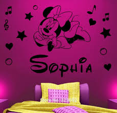 Minnie Mouse Bedroom Decorations Online Get Cheap Personalized Minnie Mouse Aliexpresscom