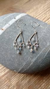swarovski a b drop chandelier earrings sterling silver