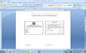 Karena dengan dimilikinya kartu tersebut akan mempermudah dalam mengkoordinir anggota dan juga mempermudah dalam proses transaksi peminjaman buku yang dilakukan oleh anggota perpustakaan. Format Kartu Anggota Perpustakaan Sekolah Antapedia Com