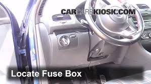 interior fuse box location volkswagen gti  interior fuse box location 2006 2014 volkswagen gti 2007 volkswagen gti 2 0l 4 cyl turbo 4 door
