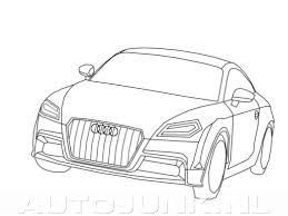 Auto Kleurplaat Audi Within Audi Kleurplaat Beste Kleurplaat