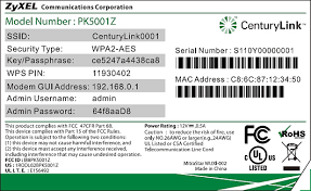 take a tour of your modem centurylink model number