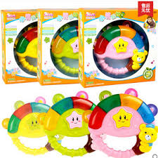 Free shipping Children\u0027s music rattle 6-12 Months Baby Toy Puzzle 0-1- 6 12 0