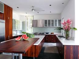 cherry cabinet kitchen designs. Interesting Designs Contemporary White Kitchen With Dark Wood Cabinetry On Cherry Cabinet Designs T