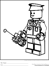 Small Picture Lego Policeman Coloring Page Free Printable Coloring Pages