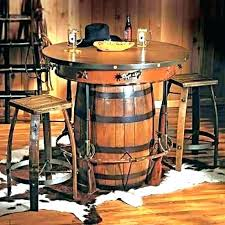 pub table plans rustic bar club diy outdoor height round
