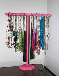 DIY Necklace Stand