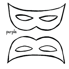 Mask Coloring Page Mask Coloring Pages A Simple Mask To Wear