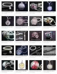 pendant designs in our harmony ball selection
