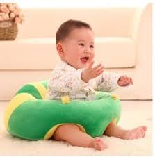 Buy Okayji Cotton Baby Support Sitting Cushion Chair Green Online