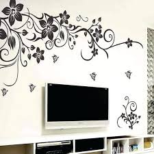 stickers for wall decoration home depot wall decals wall art decal decoration fashion romantic flower wall stickers for wall