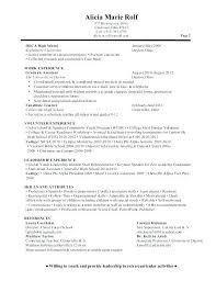 On Campus Job Resume Examples Word For Letter Writing New