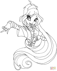 Small Picture Winx Club Bloom coloring pages Free Coloring Pages