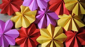 ganpati decoration how to make a paper flowers for decoration ganpati decoration final