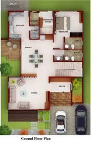 40x60 northfacing duplex floor plan