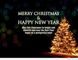 christmas and new years wishes quote