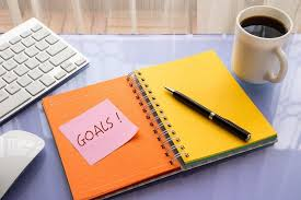 Image result for note with set goals