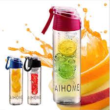 Товар 800ml Cycling Sport Fruit Infusing Infuser Water Lemon Bottle ...
