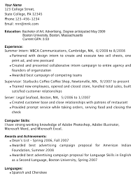 Gallery Of Resume Examples For College Students With Little