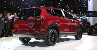 toyota rav4 2018 release date. delighful release 2018 toyota rav4 adventure chicago auto show display back end and toyota rav4 release date
