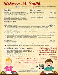 Creative Teacher Resume Templates Free preschool teacher cover letter sample application example creative 2