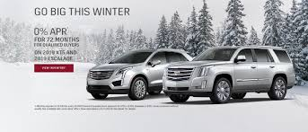 2019 cadillac escalade and xt5 0 for 72 apr