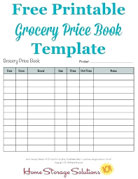 Grocery Receipt Template