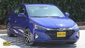 2020 Hyundai Elantra Sport Fwd 4dr Car