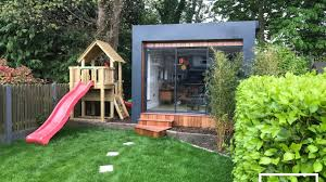 home office in the garden. Amazing Home Office Garden Room Build - Time Lapse Home Office In The Garden