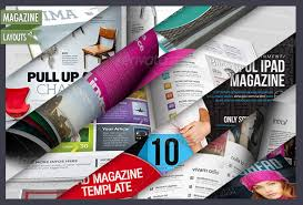 Advantages of an online magazine template - WDVL