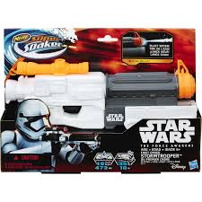 Nerf Super Soaker Star Wars Storm Trooper Gun BIG W