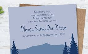 Save The Date No Photo Funny Save The Date Wording Examples You Might Not Have Seen