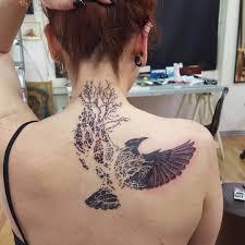 25 Crow Tattoo Designs Ideas Design Trends Premium Psd Vector