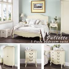 Shabby Chic White Bedroom Furniture Gorgeous Juliette Shabby Chic Champagne 5pc Bedroom Furniture Set