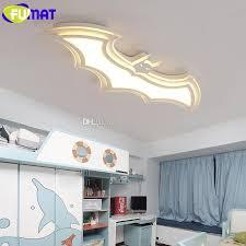 kids ceiling lighting. FUMAT White Batman Ceiling Lamp LED Cartoon Children Room Light Modern Acrylic For Living Bat Shape Animal Kids Lighting G
