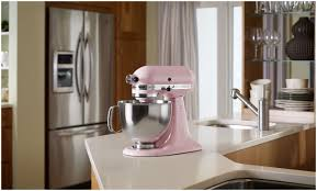 Pink Kitchen Aid Mixer Kitchen Aid Mixer Pink Cook For The Cure Kitchenaid Mixer