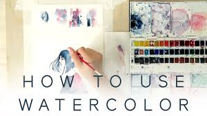 HOW TO USE <b>WATERCOLOR</b> - Introduction Tutorial - YouTube