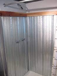 galvanized shower surround a complete
