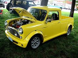 Mini Pickup Truck... These were actually made, not a conversion ...