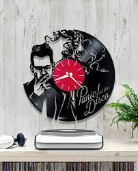 panic at the disco vinyl clock wall clock v188 kitchen ifvuh 181095