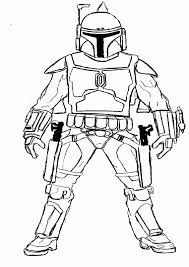 jango fett coloring page.  Jango Star Wars Coloring Pages Jango Fett  Best Page Site To G