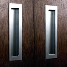 recessed sliding door pull pulls for doors flush d91