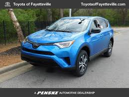 2018 New Toyota RAV4 LE FWD at Fayetteville Autopark, IID 17511715