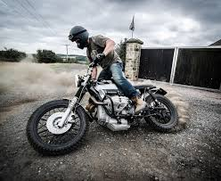 down out motorcycles r100 street tracker